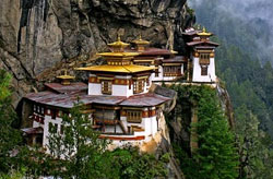 Tiger Nest in Bhutan