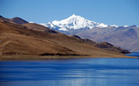 Tibetan Mountain and Lakes